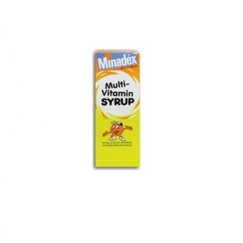 Minadex Multivitamin Syrup 100ml