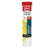 Lanes Calcium + Vit.D3 Λεμόνι 20 αναβράζοντα δισκία