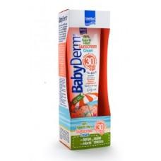 InterMed BabyDerm Sunscreen Cream Spf30 – 100% Natural Filters