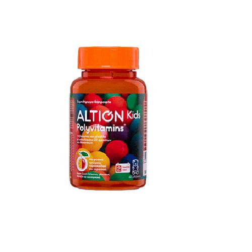 ALTION KIDS POLYVITAMINS 60 ΖΕΛΕΔΑΚΙΑ